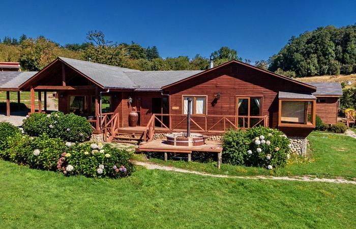Cabaña 3 dormitorios Premium