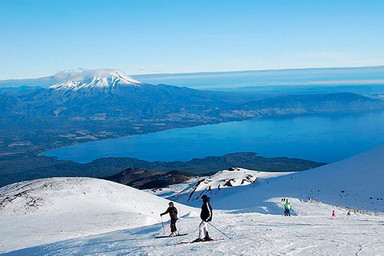 Centro de Ski Volcán Osorno